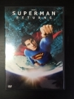 Superman Returns DVD (VG+/M-) -toiminta-
