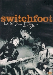 Switchfoot - Live In San Diego DVD (VG+/M-) -alt rock- (R1 NTSC)
