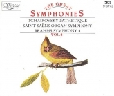 Tchaikovsky / Saint-Saens / Brahms - The Great Symphonies Vol.2 3CD (VG-M-/VG+) -klassinen-