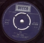 Tom Jones - Till 7'' (M-/-) -pop-