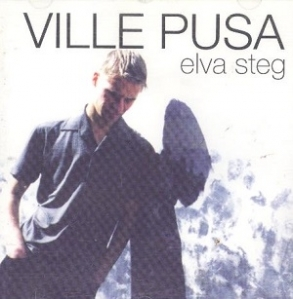 Ville Pusa - Elva steg CD (VG/M-) -pop rock-