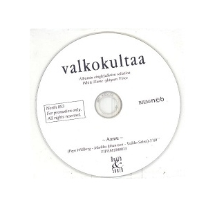 Vince (White Flame) - Aamu PROMO CDS (VG+/-) -iskelmä-