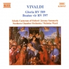Vivaldi - Gloria RV 589 / Beatus Vir RV 597 CD (VG+/M-) -klassinen-