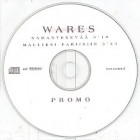 Wares - Samantekevää PROMO CDS (VG/-) -pop rock-
