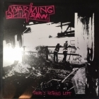 Warning//Warning - There's Nothing Left LP (M-/VG+) -hardcore-