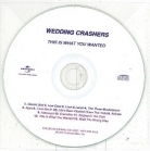 Wedding Crashers - This Is What You Wanted PROMO CD (VG/-) -power pop-