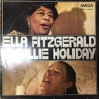 Ella Fitzgerald & Billie Holiday - Fitzgerald & Holiday LP (VG+/VG+) -jazz-